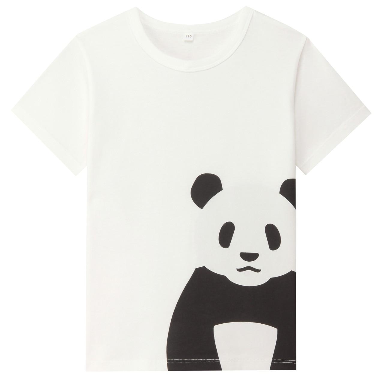 オーガニックコットンプリントTシャツ(キッズ)
