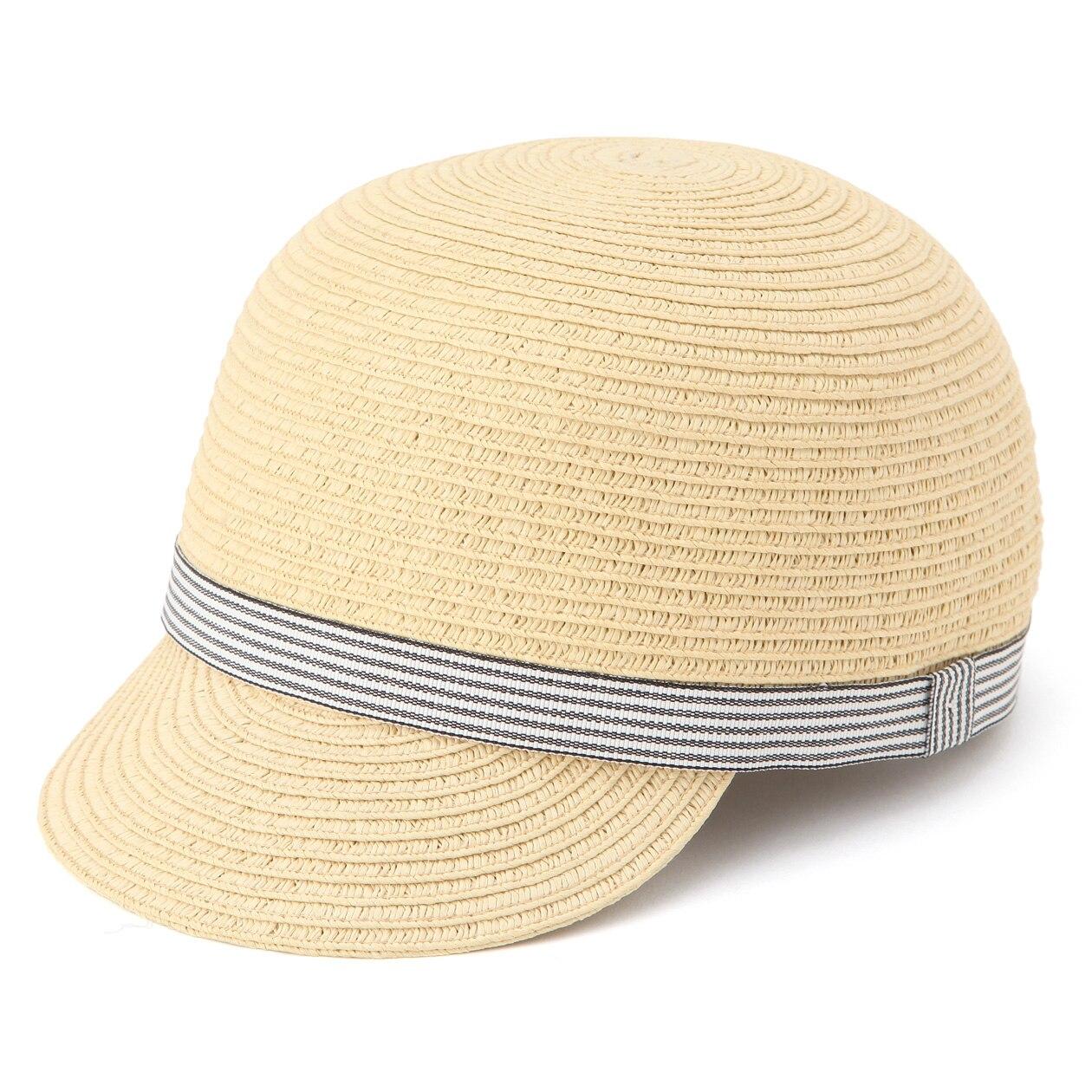 ブレードつば付帽子