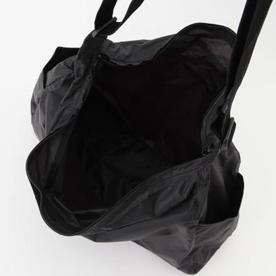 31386e3e87 PARAGLIDER CLOTH FOLDABLE SHOULDER BAG BLACK