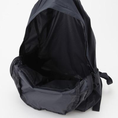 無印良品 | パラグライダークロス 収納袋付きたためるリュックサックネイビー 通販