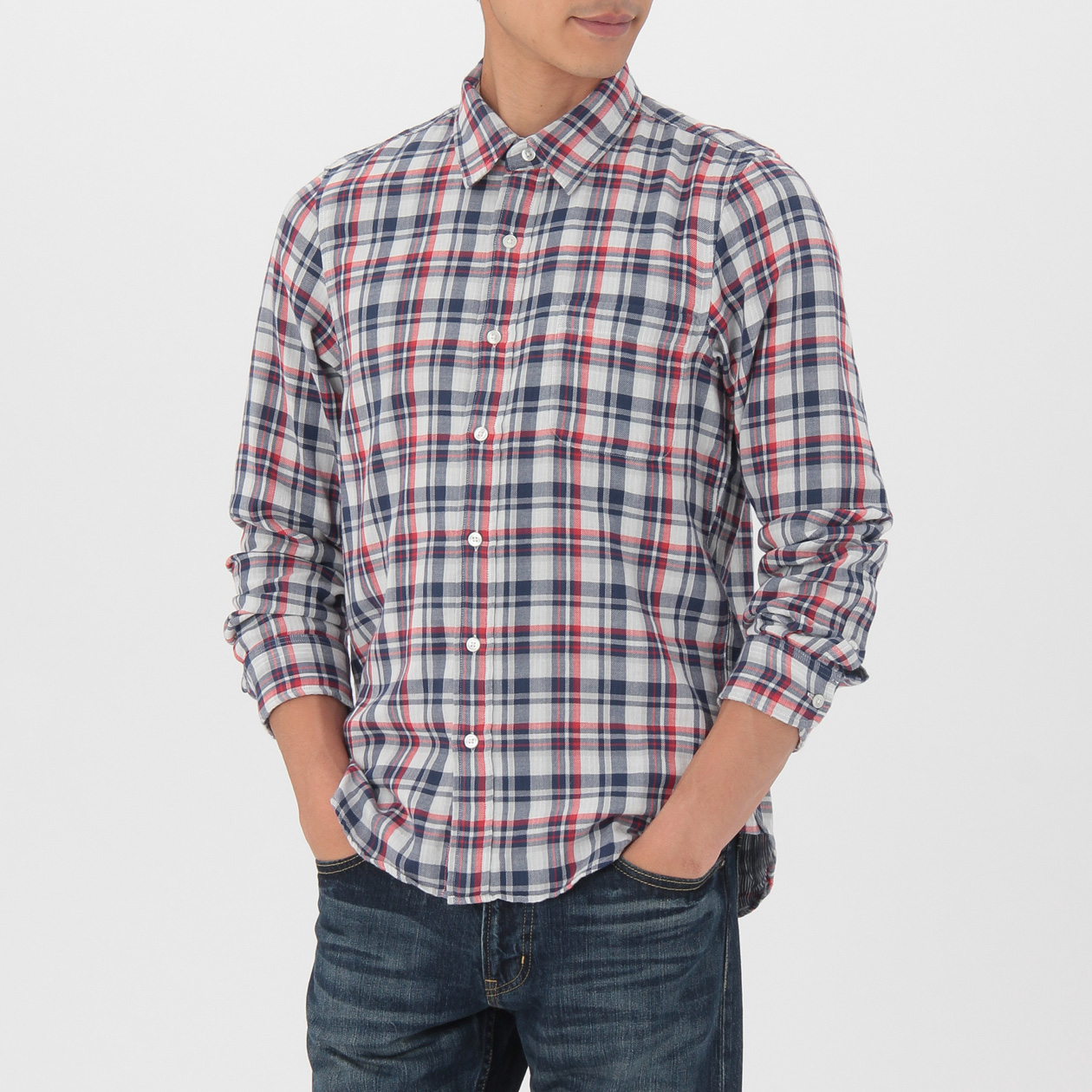 OGC DOUBLE GAUZE CHECK SHIRT