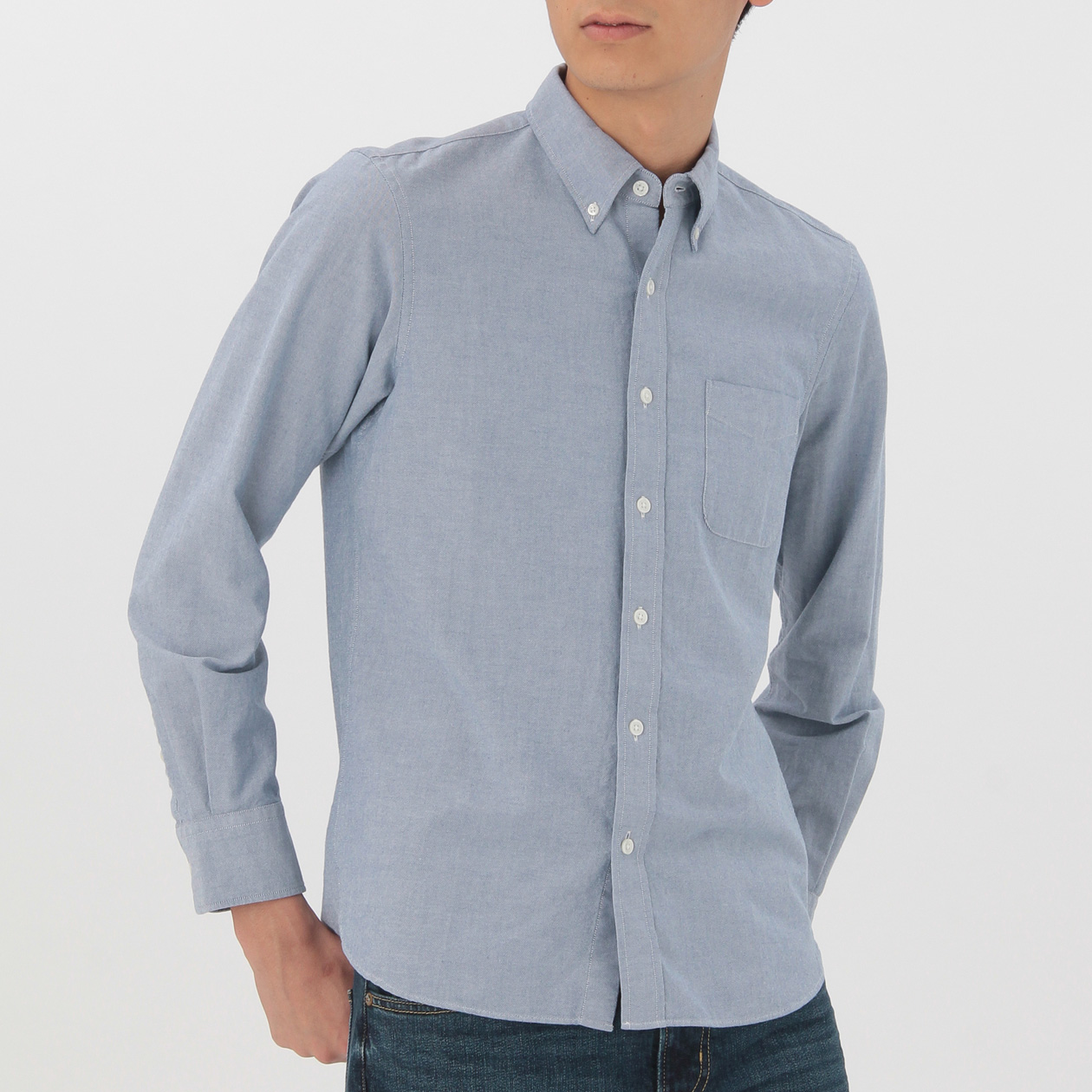 Men 39 s organic cotton washed oxford button down shirt for Organic cotton button down shirts