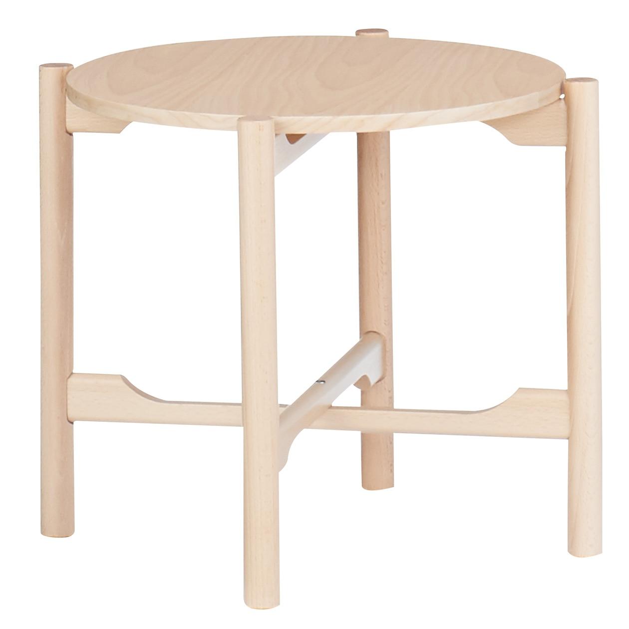 ブナ材サイドテーブル