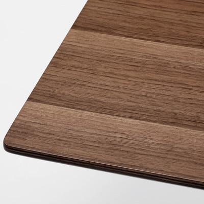 無印良品 | リビングでもダイニングでもつかえるテーブル・1・ウォールナット材幅150×奥行65×高さ60cm 通販