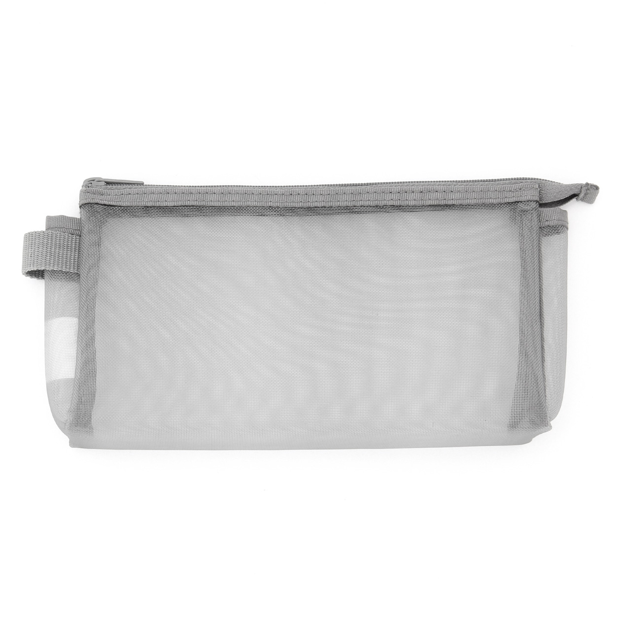 cb1dda185eb1f5 NYLON MESH PEN CASE WITH GUSSET | MUJI