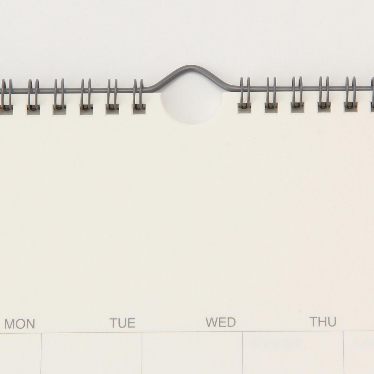バガスペーパーカレンダー・大 18年4月~19年3月・270×270 SALE
