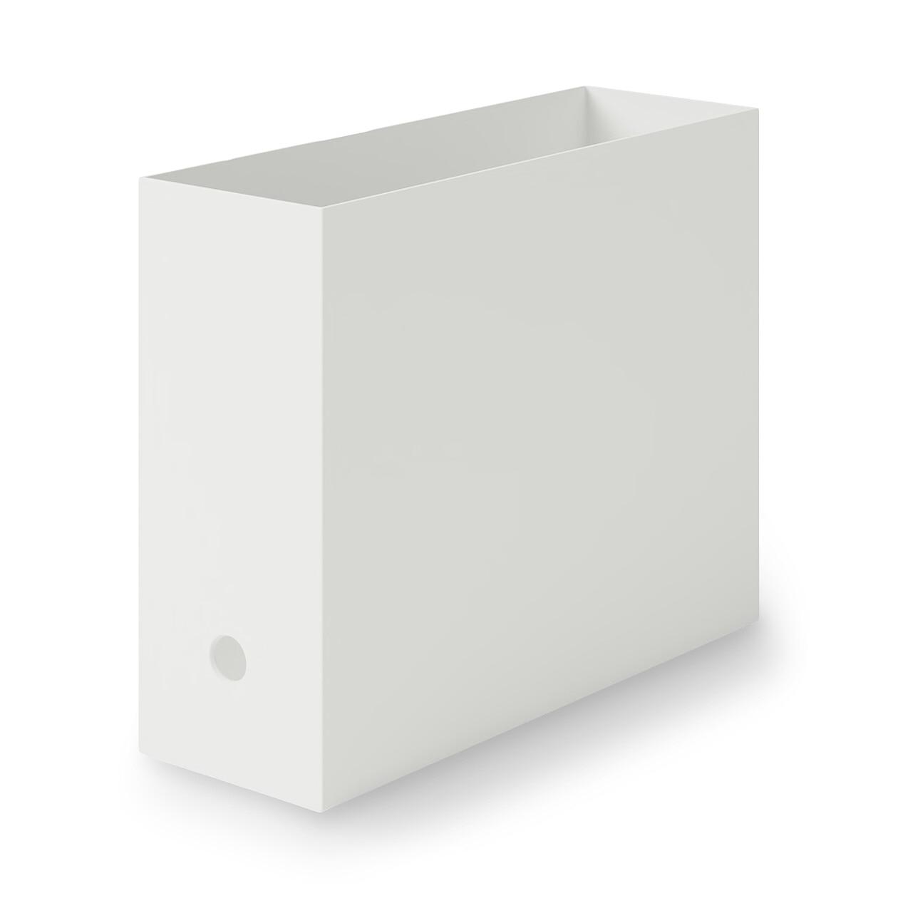 RoomClip商品情報 - ポリプロピレンファイルボックス・スタンダードタイプ・A4用 ホワイトグレー