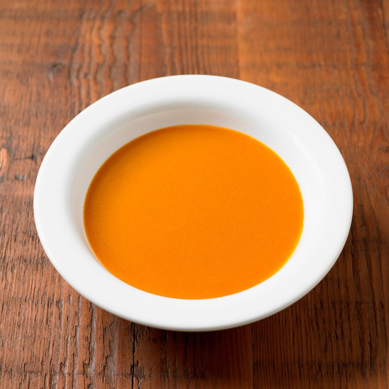 素材を生かしたスープ 蟹のビスク
