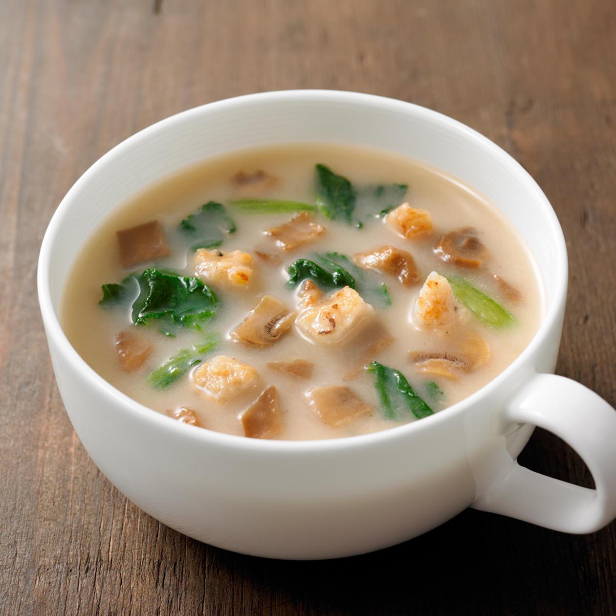 【ネット限定】【まとめ買い】 食べるスープ きのことチキンのポルチーニポタージュ