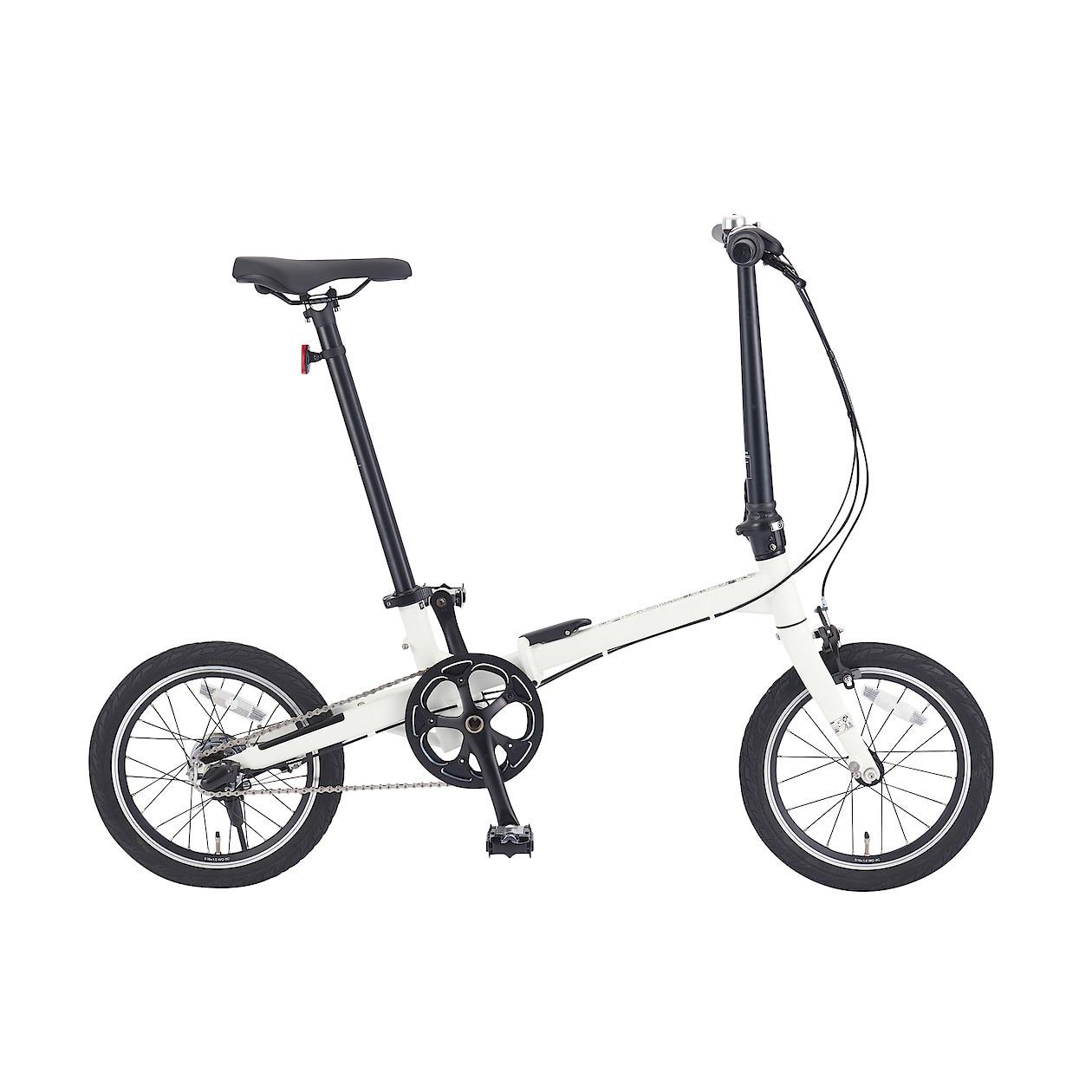 16型折りたたみ自転車・グレー