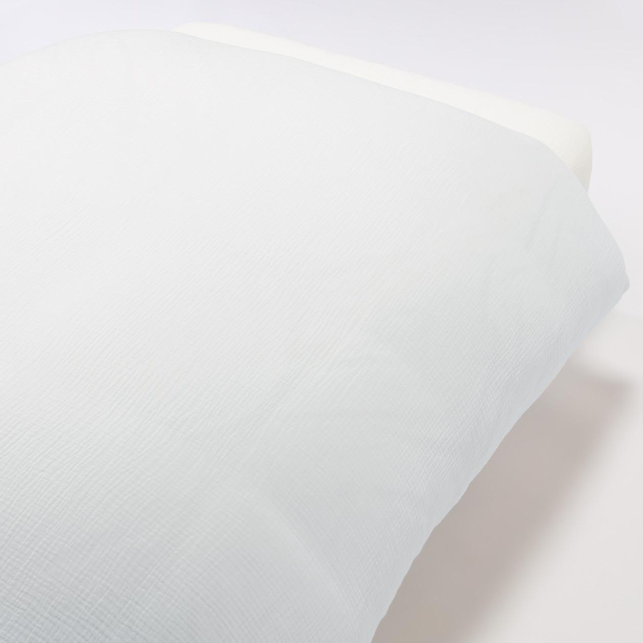 RoomClip商品情報 - オーガニックコットン三重ガーゼ掛ふとんカバー・SD/オフ白 SD/オフ白