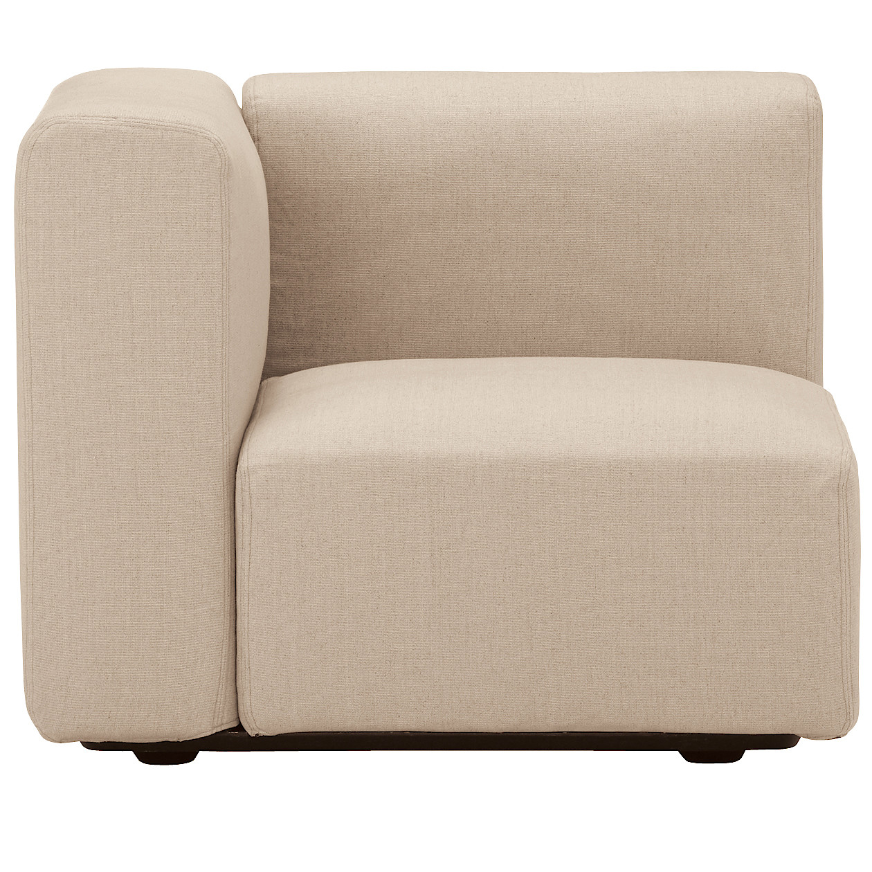 Groovy Unit Sofa With Armrest S W82 D82 H66Cm Muji Bralicious Painted Fabric Chair Ideas Braliciousco