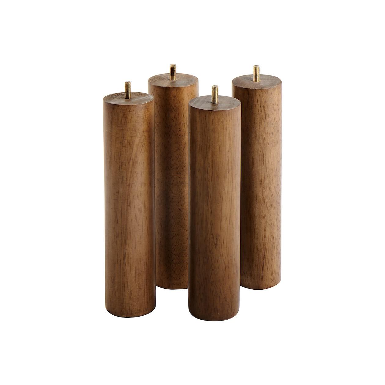 木製脚・26cm/ブラウン(M8)