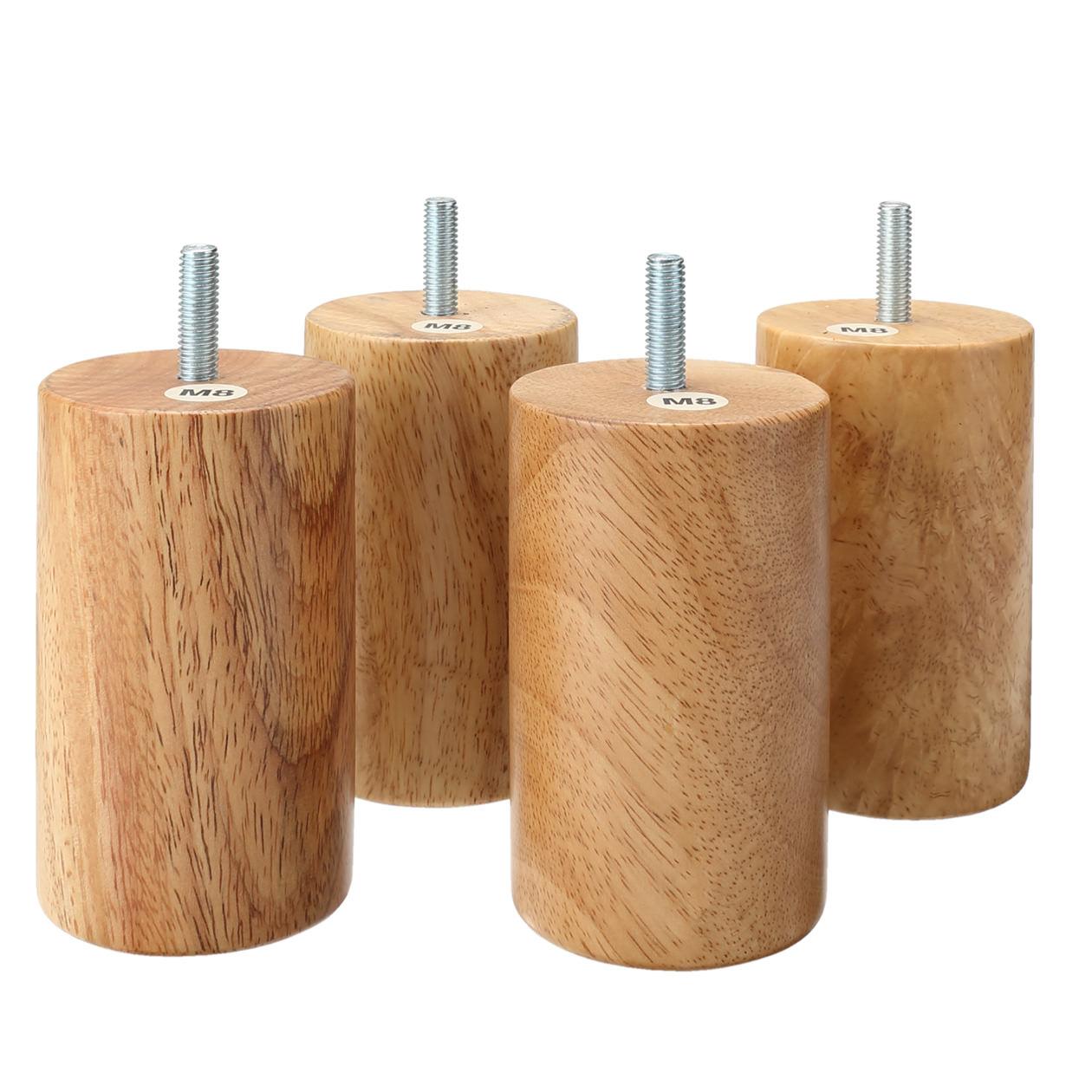 木製脚・10cm/ナチュラル(M8)