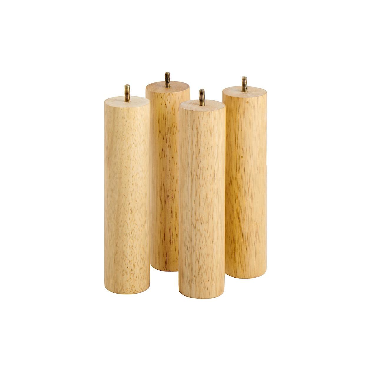 木製脚・26cm/ナチュラル(M8)