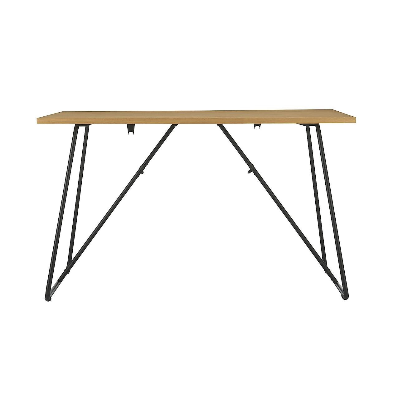折りたたみテーブル・幅120cm・オーク材 オーク材