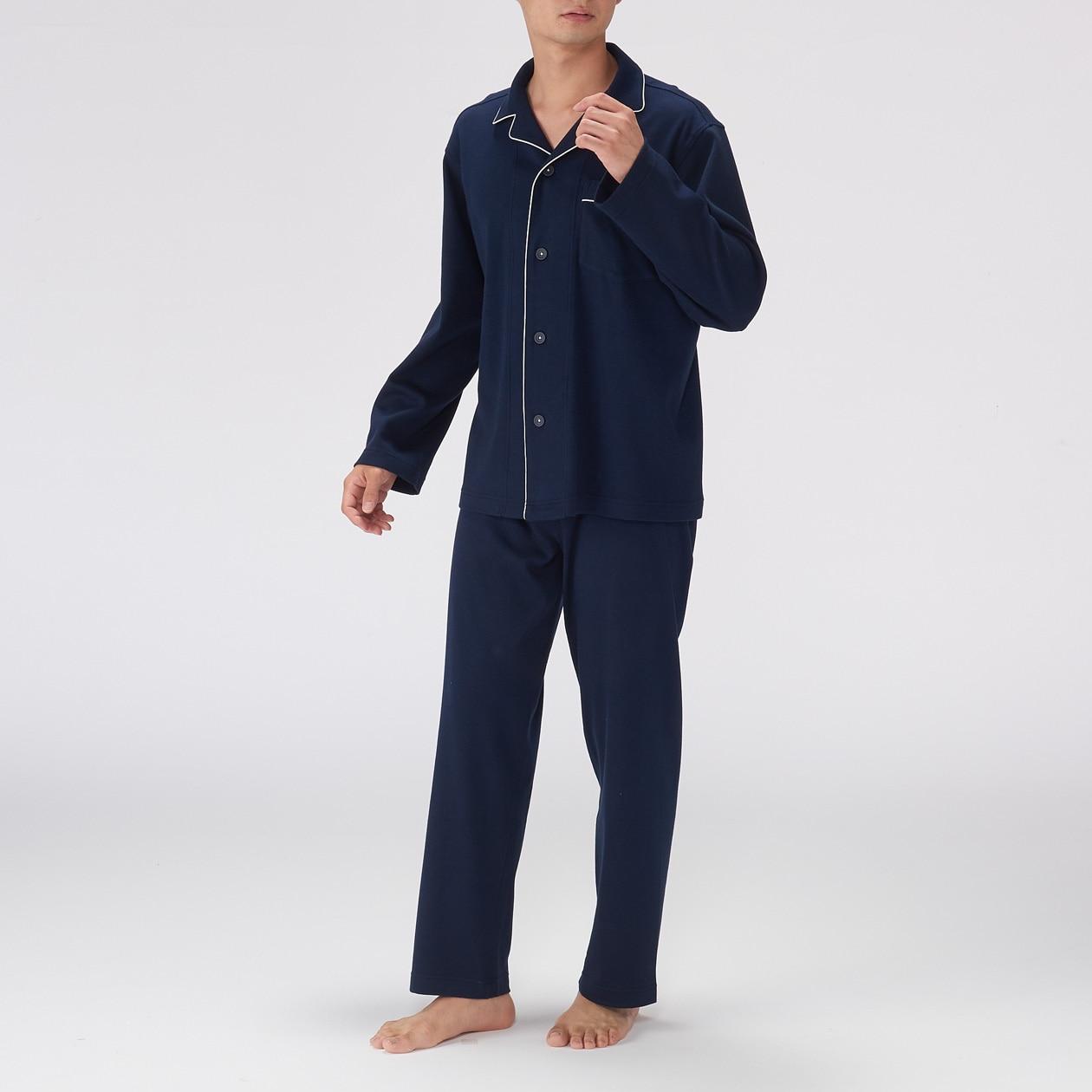 無印良品 スムース編みパジャマ