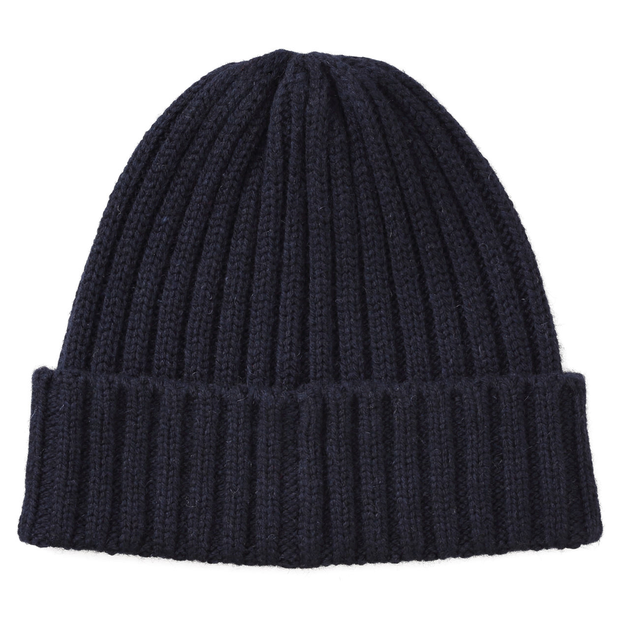 Non-Itchy On Forehead Wool Mix Rib Beanie  9f78f688a19