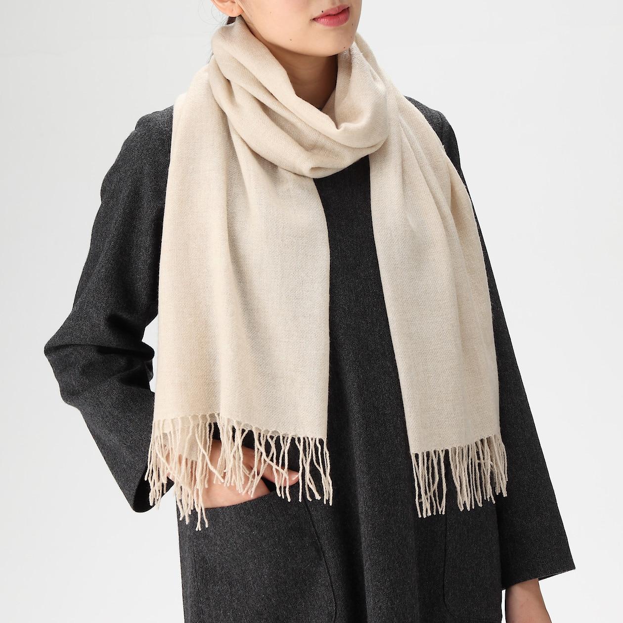 無印良品『カシミヤ織りストール』