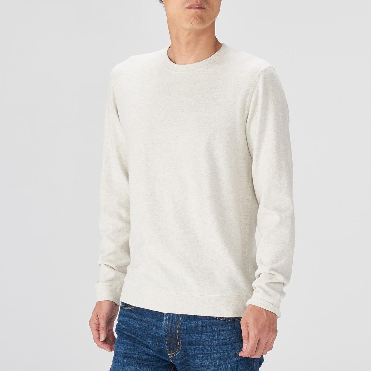 オーガニックコットン甘撚り長袖Tシャツ