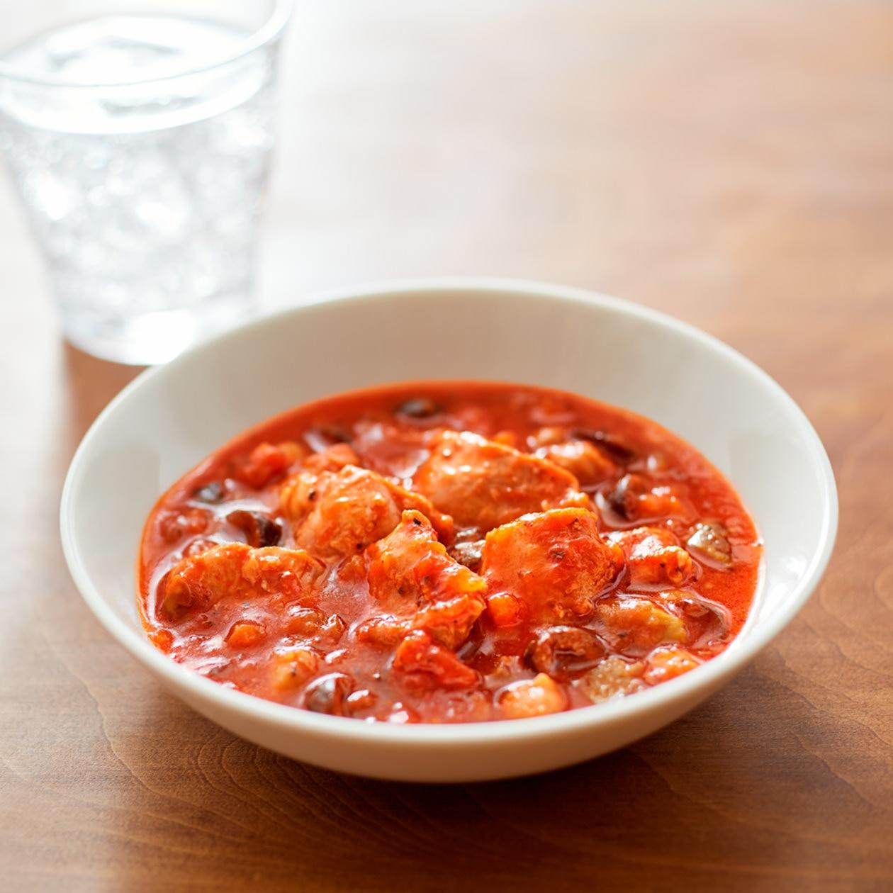 素材を生かした チキンのトマト煮