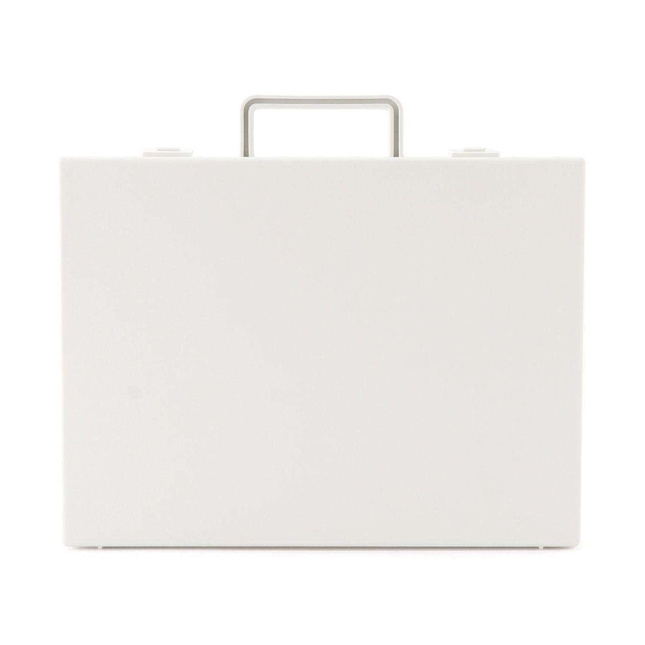 RoomClip商品情報 - 自立収納できるキャリーケース・A4用・ホワイトグレー