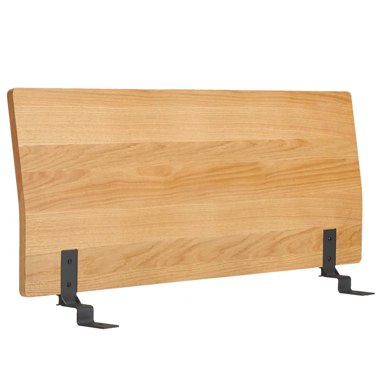 ベッドフレーム用ヘッドボード・ダブル・オーク材