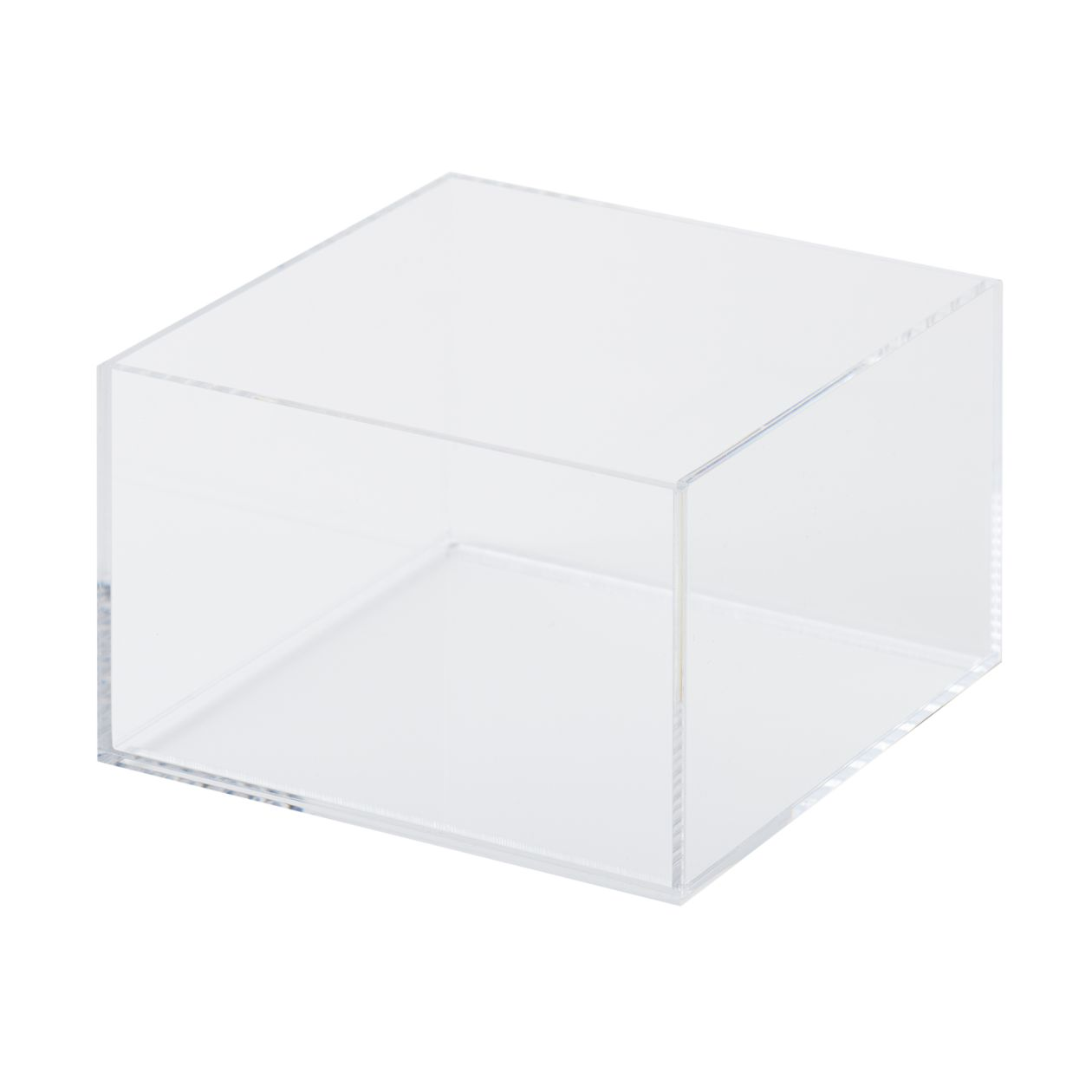 STACKABLE ACRYLIC BOX / M / HALF