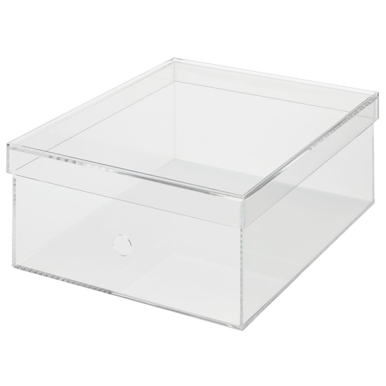 重なるアクリル収納ボックス