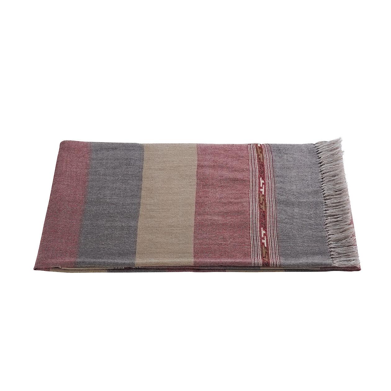【数量限定】インドの布パトゥ/レッドライン