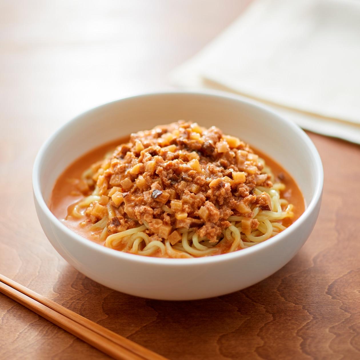 麺にかける 胡麻味噌担々スープ
