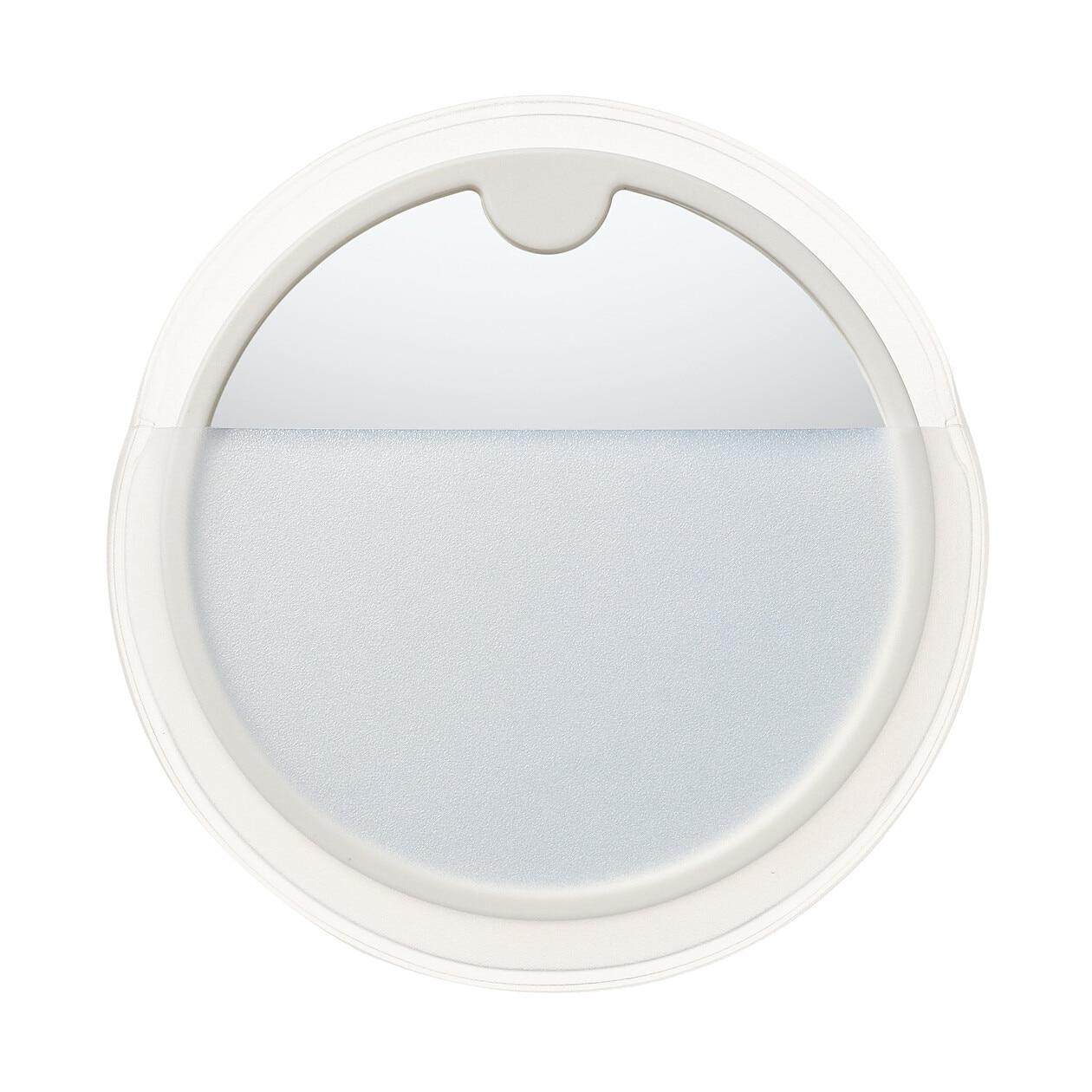 スチロール丸型コンパクトミラー