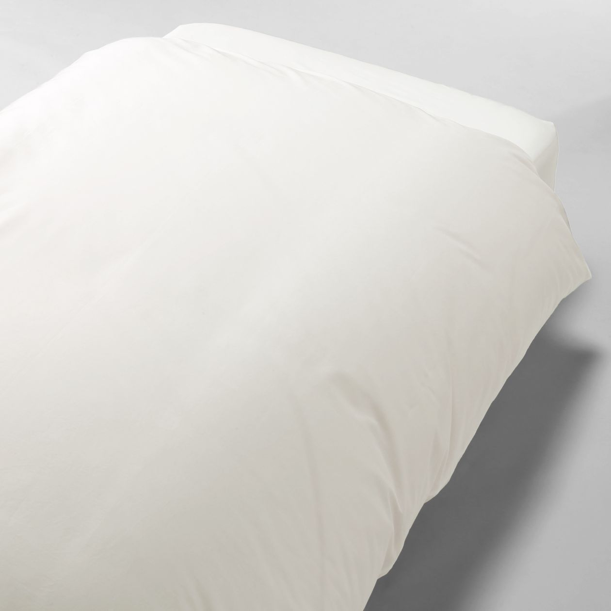 綿高密度織掛ふとんカバー・D/オフ白