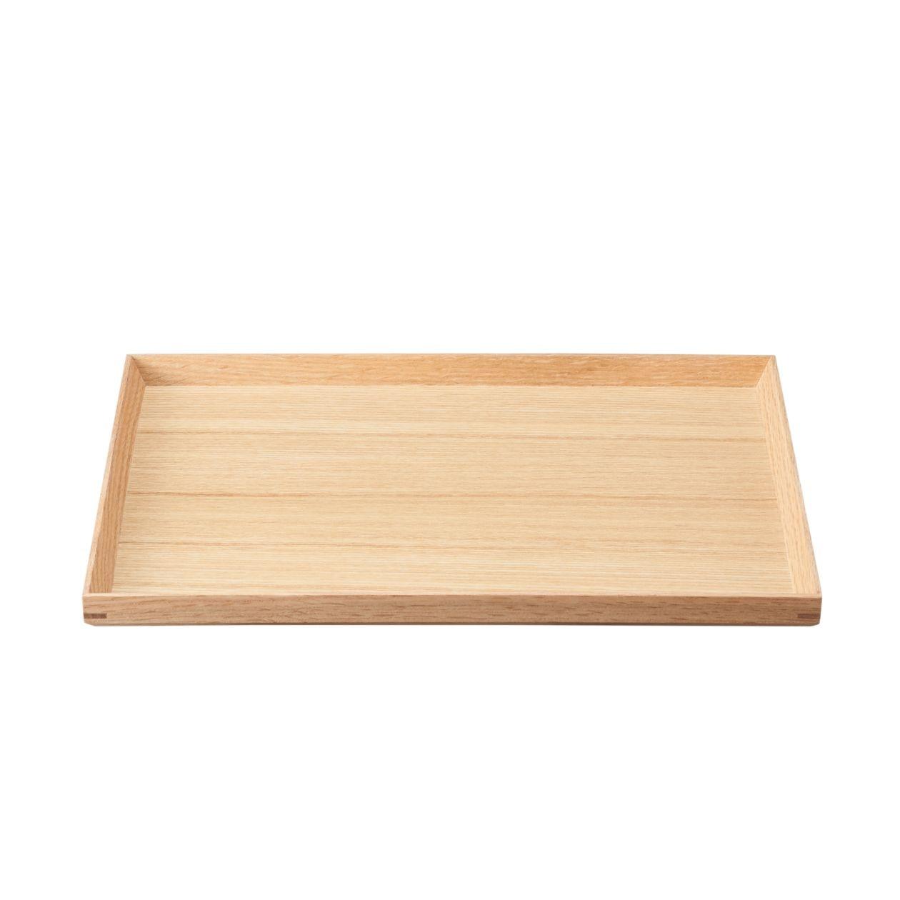 木製 角型トレー 約幅35×奥行26×高さ2cm
