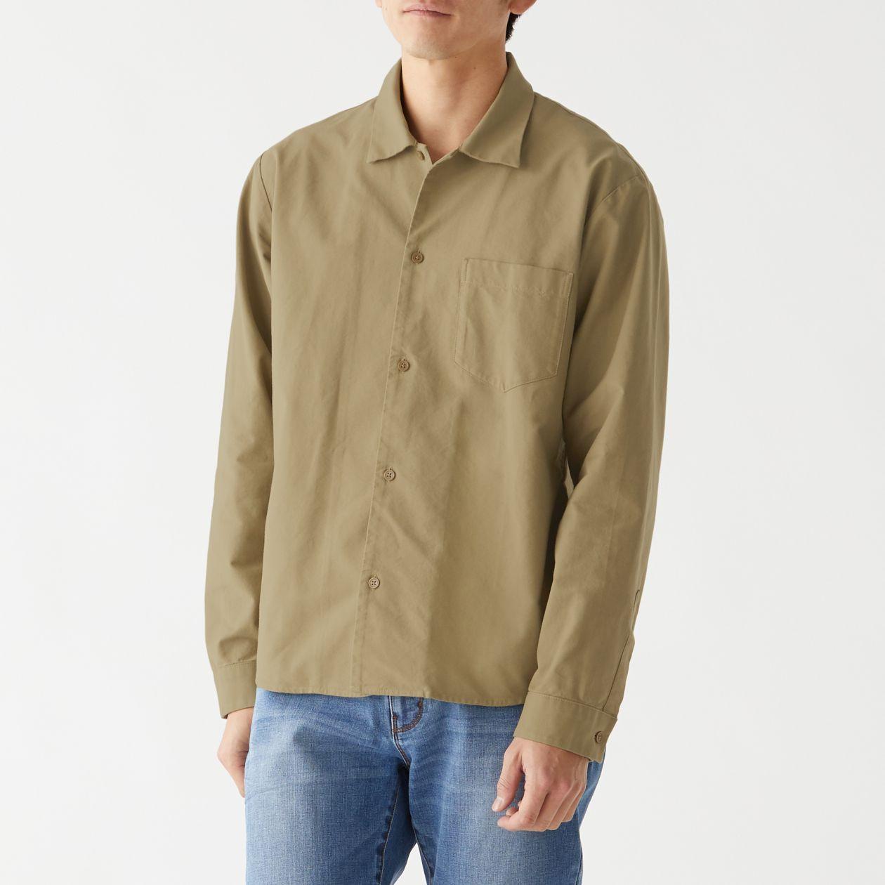 新疆綿オックススクエアカットシャツ