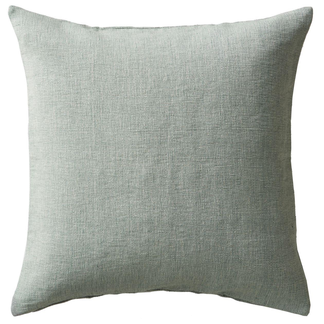 綿手織座ぶとんカバー/グリーン