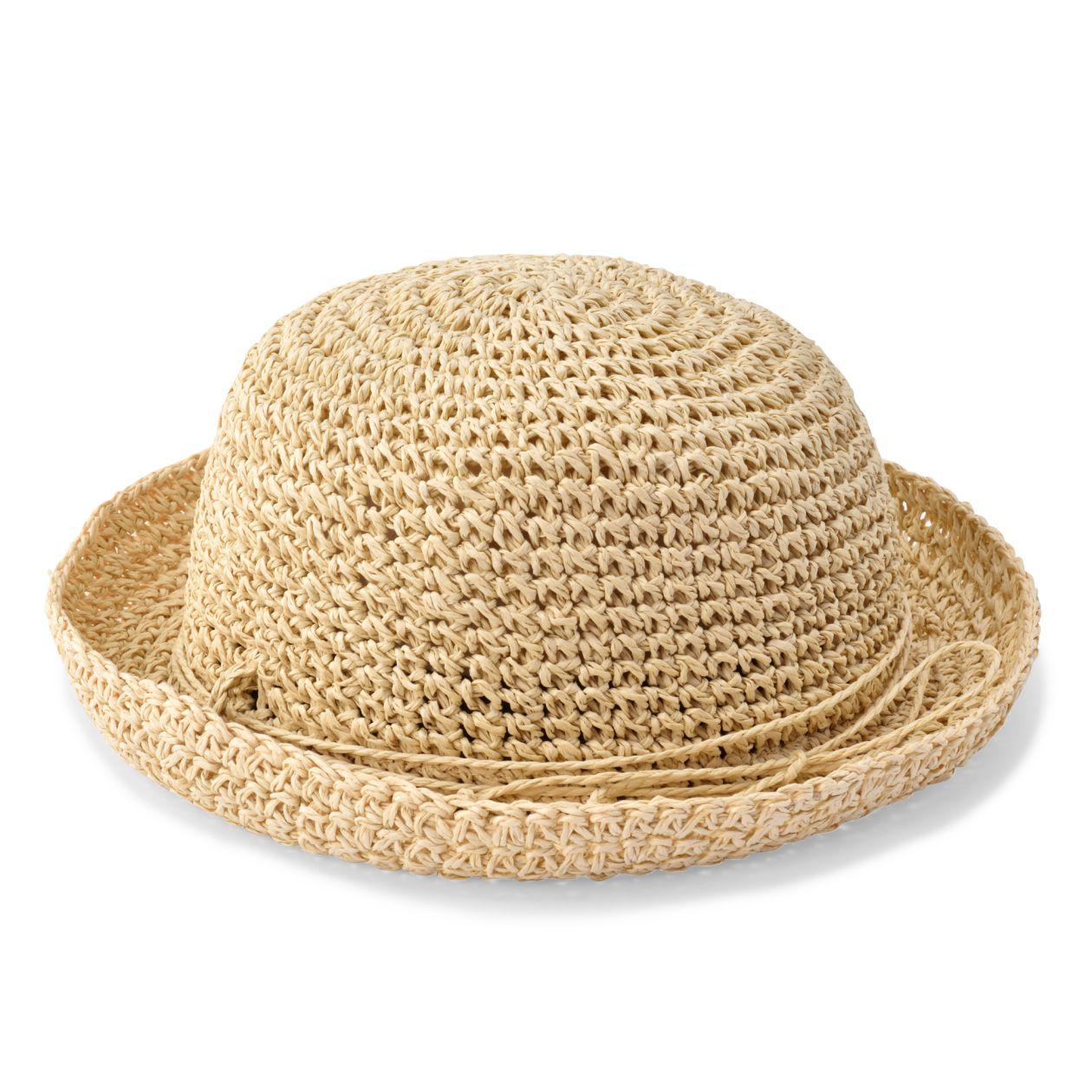 ペーパーたためる手編み帽子