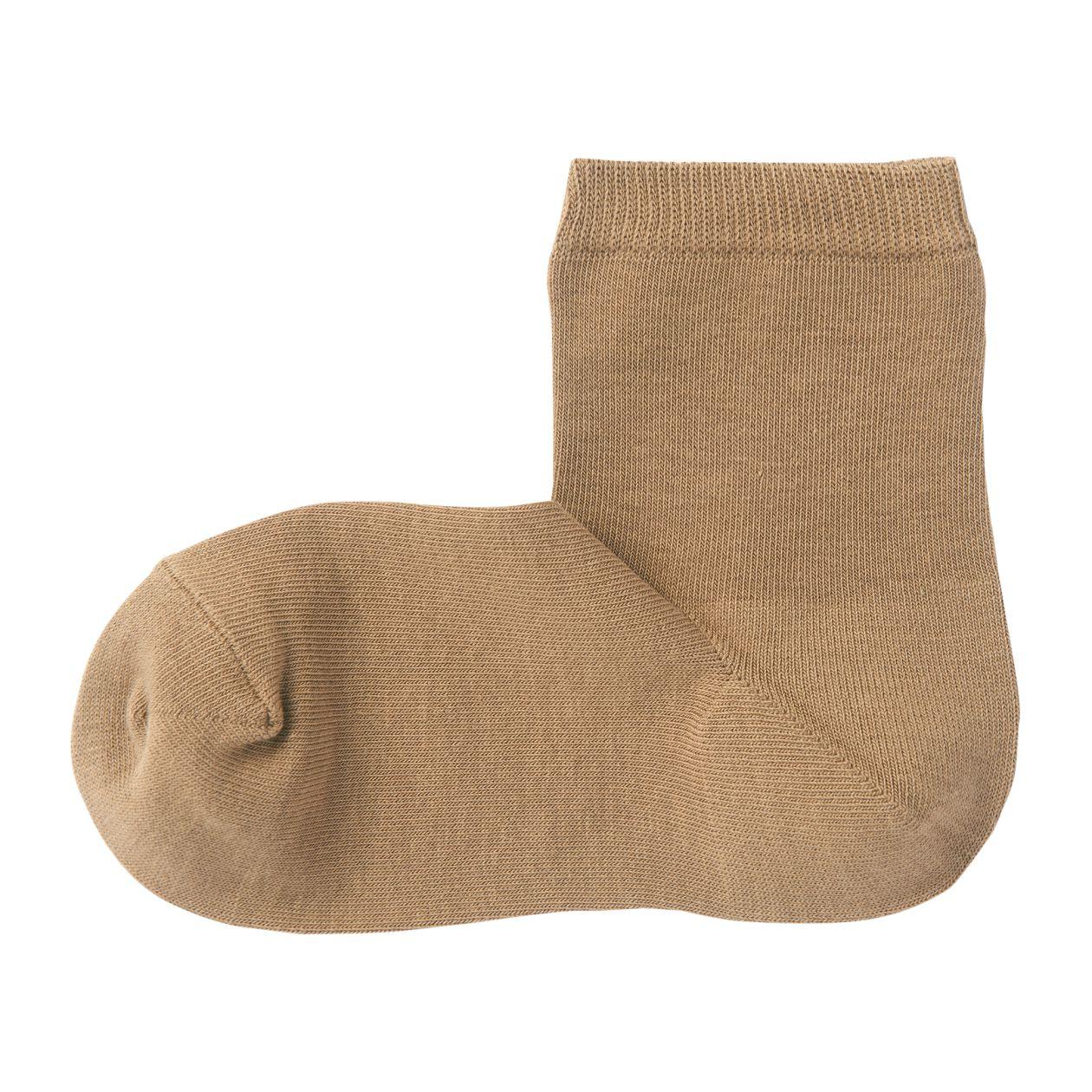 足なり直角 口ゴムなし三層 ショート丈靴下(婦人・えらべる)