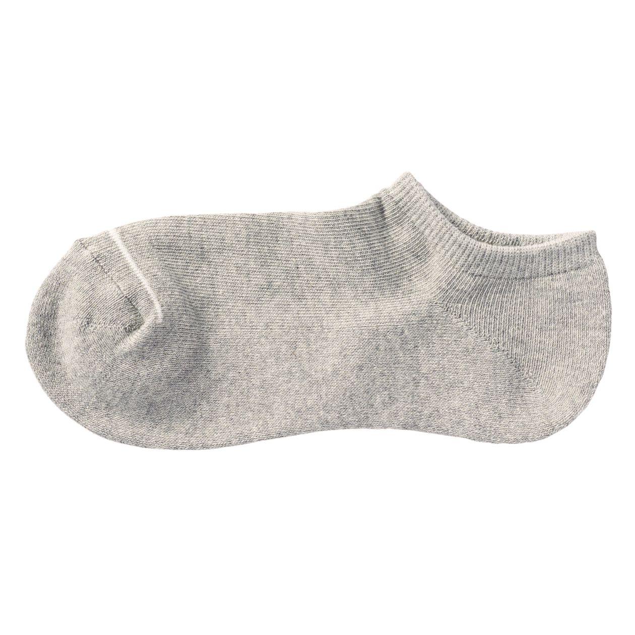 足なり直角 足底パイル編み スニーカーイン靴下(婦人・えらべる)