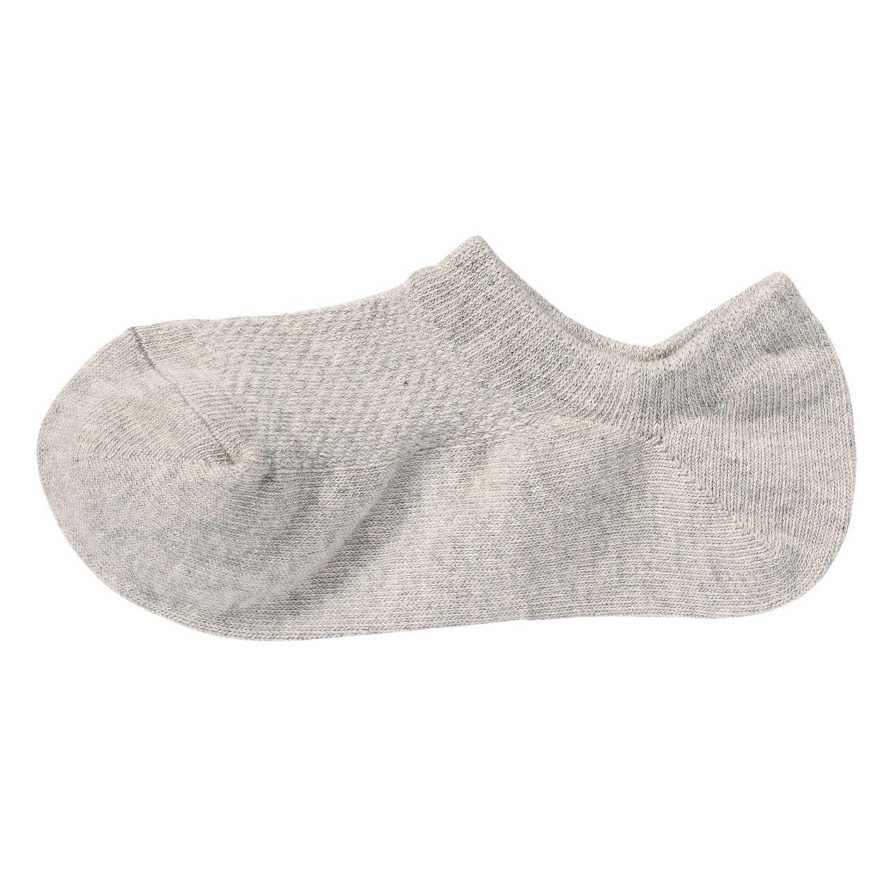 足なり直角 メッシュ編み スニーカーイン靴下(婦人・えらべる)