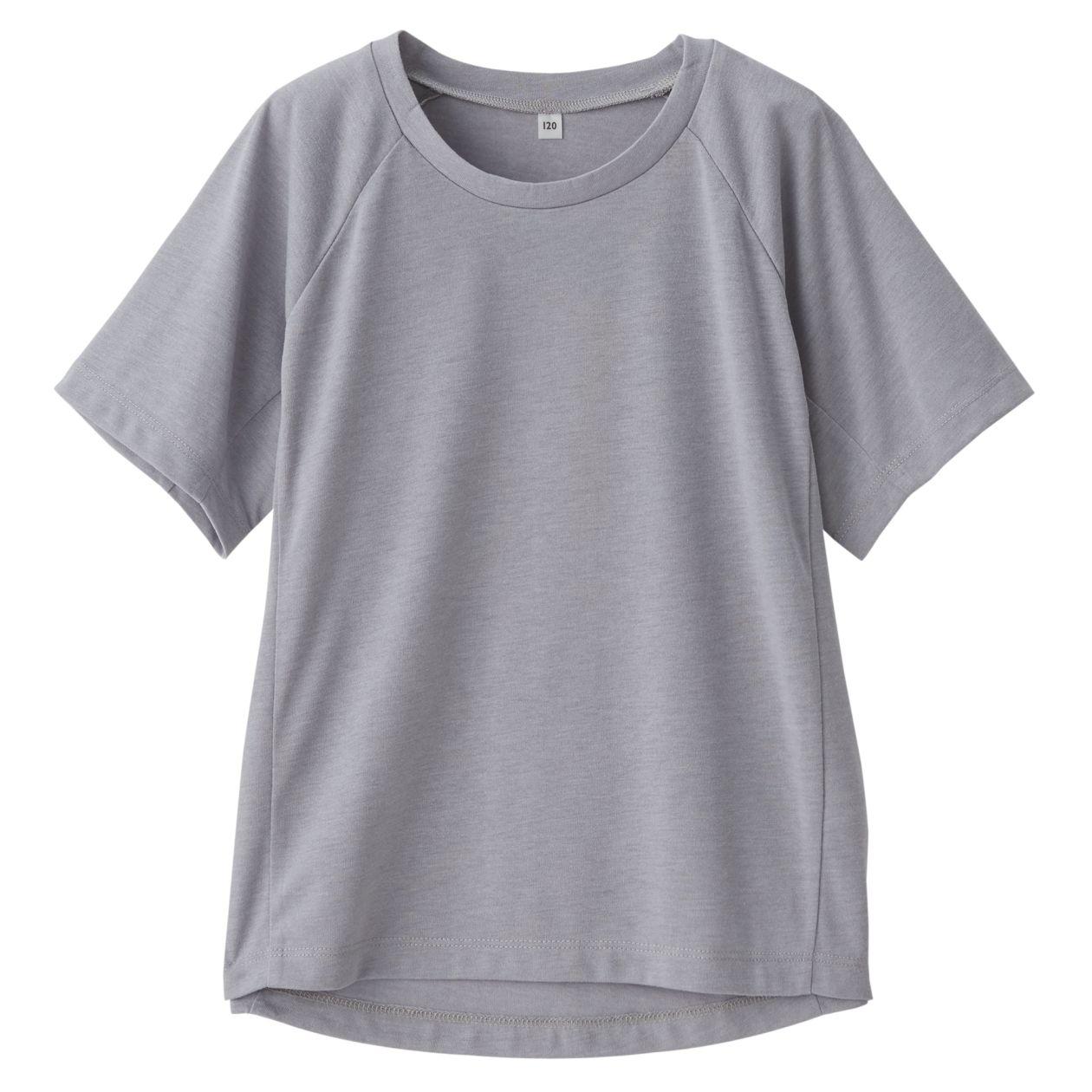 吸水速乾半袖Tシャツ(キッズ)