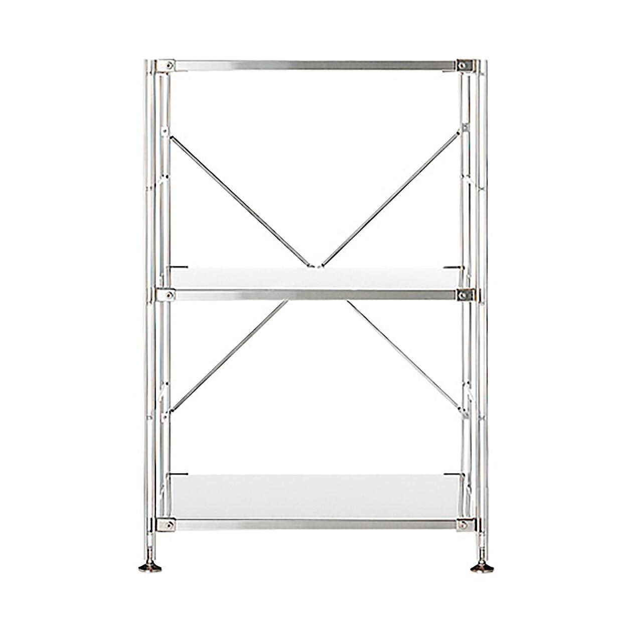 RoomClip商品情報 - ステンレスユニットシェルフ・ステンレス棚セット・小