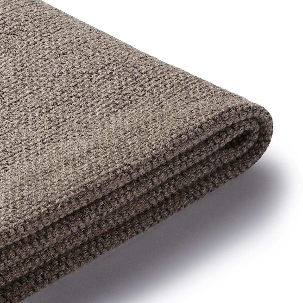 綿太番手ハイバックリクライニングソファ・1シーター用カバー/ブラウン