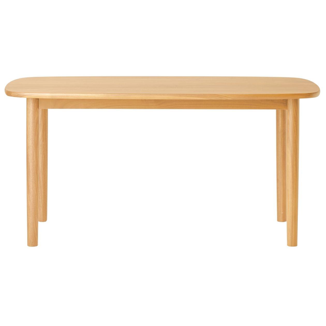 無垢材テーブル・楕円・オーク材・幅150cm