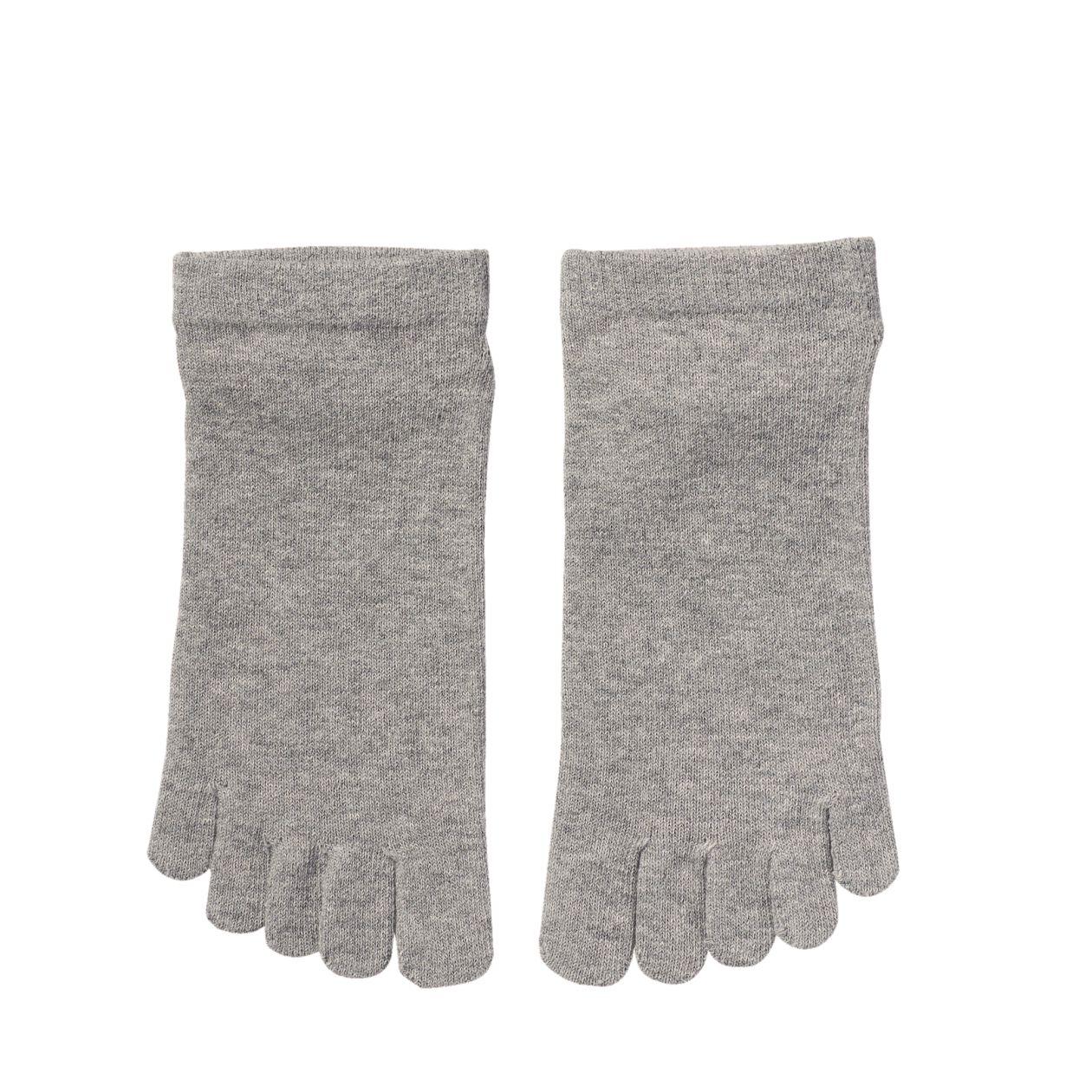 足なり直角 5本指スニーカーイン靴下(紳士・えらべる)