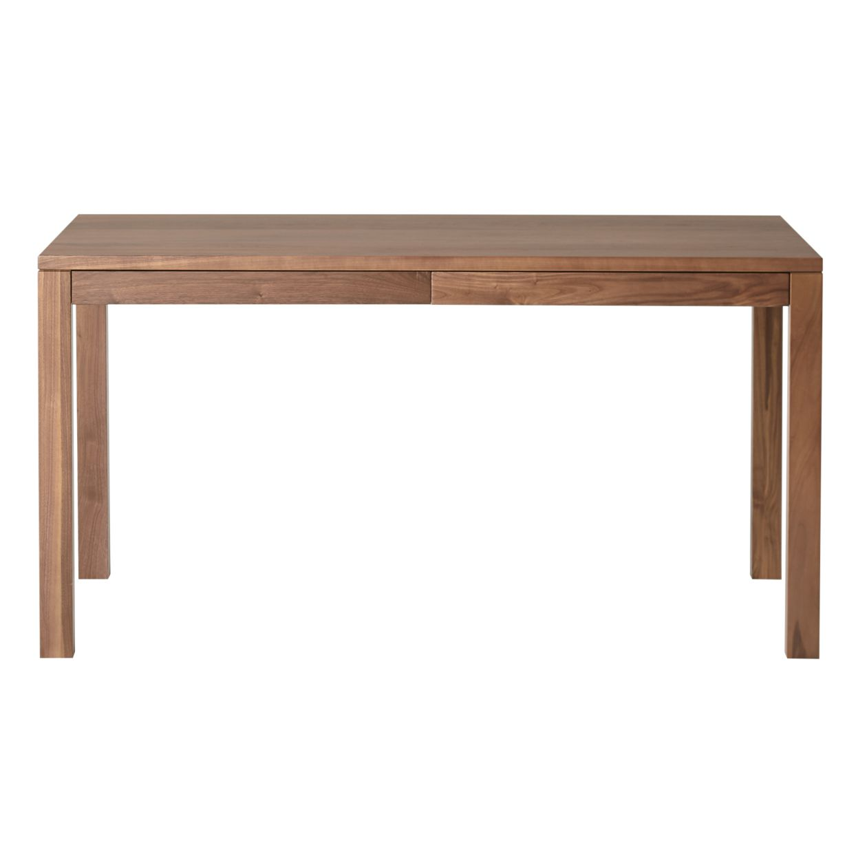 Walnut Wood Table with Drawer - M