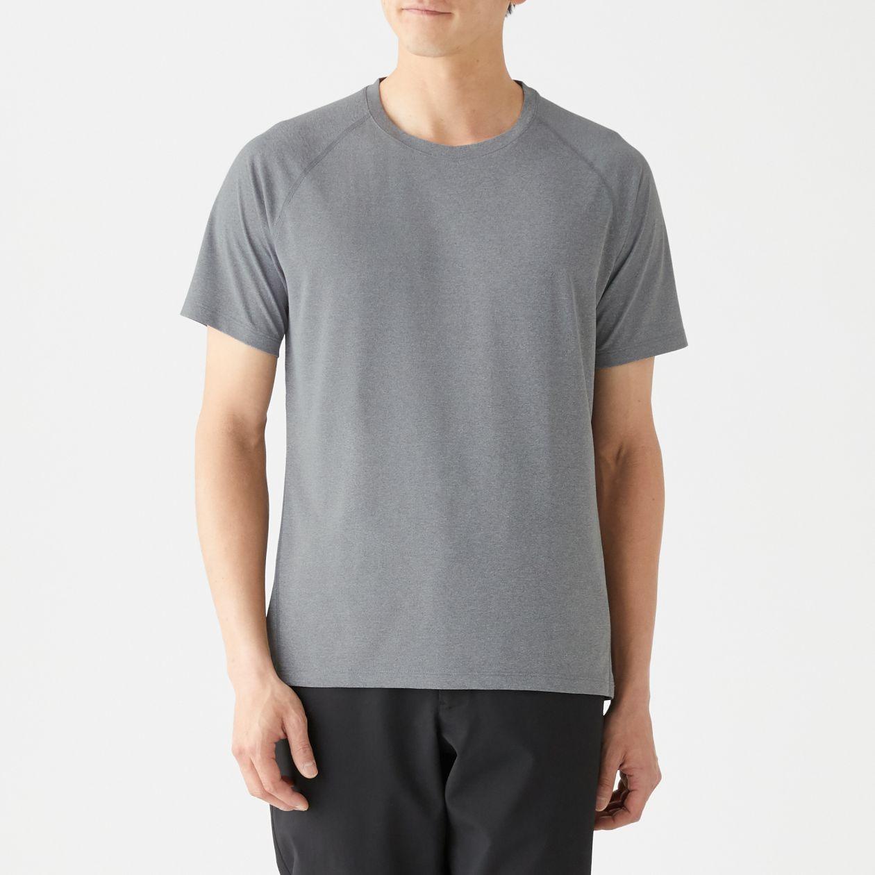 吸汗速乾UVカット半袖Tシャツ(ラグランスリーブ)