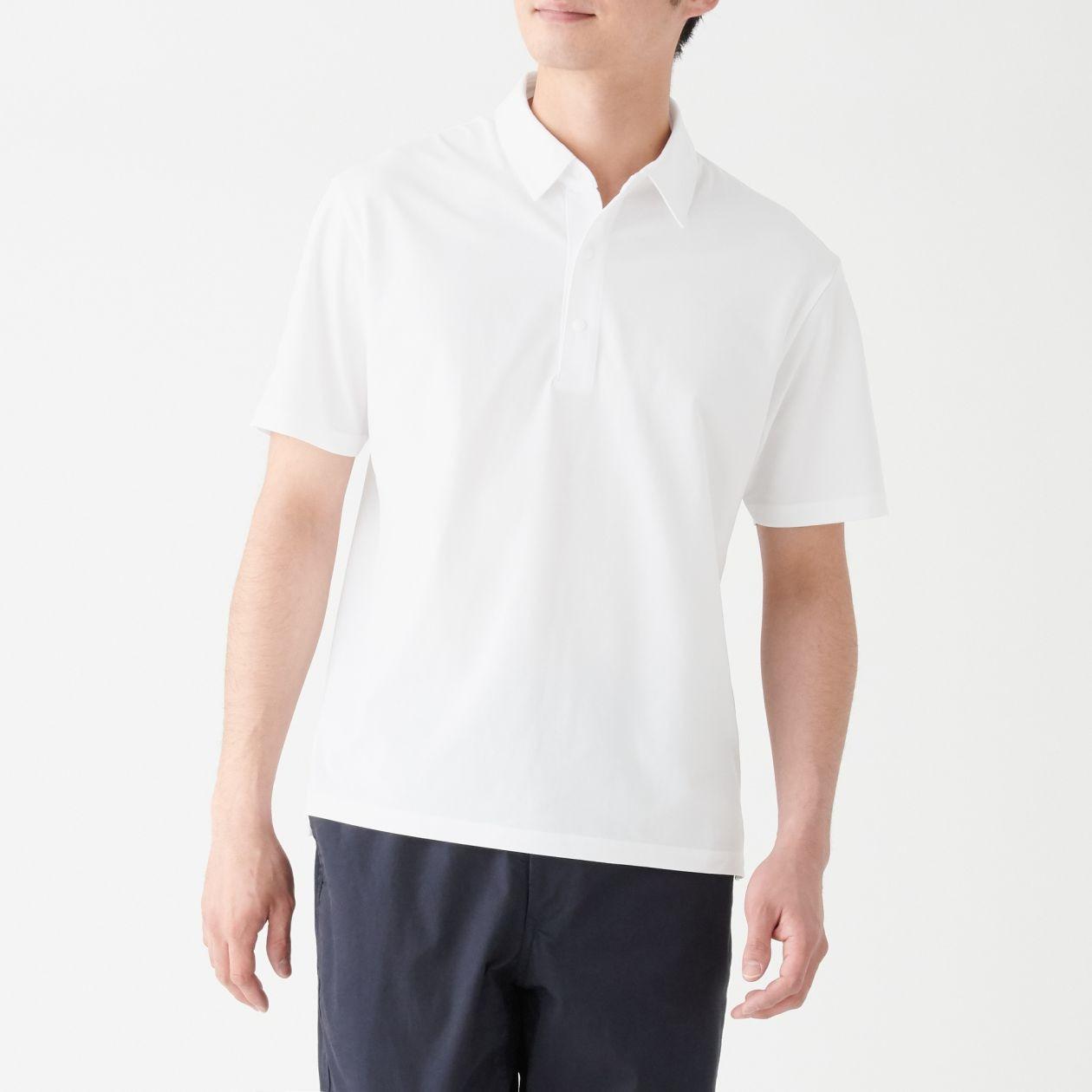 乾きやすい半袖ポロシャツ