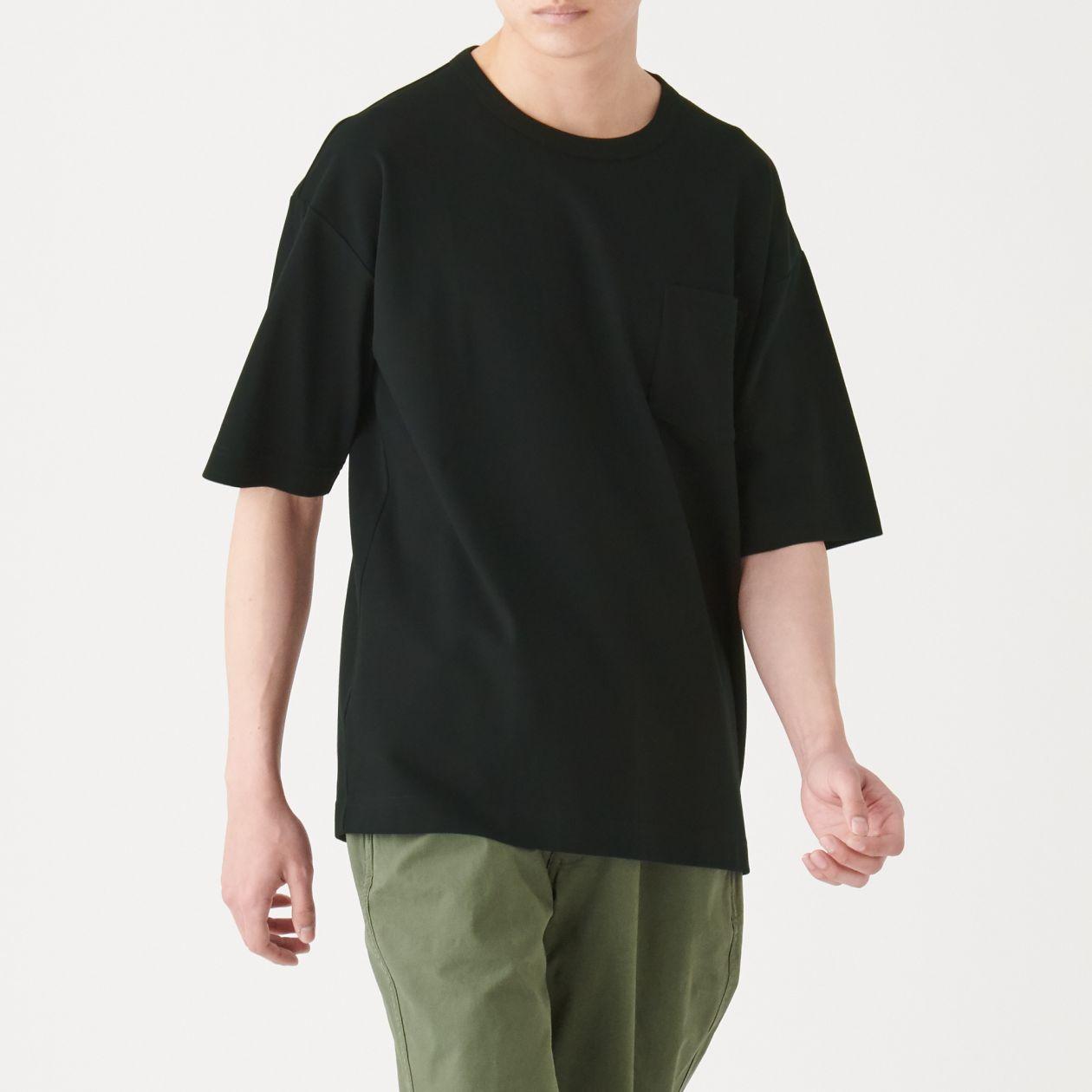 新疆綿 鹿の子編み半袖Tシャツ
