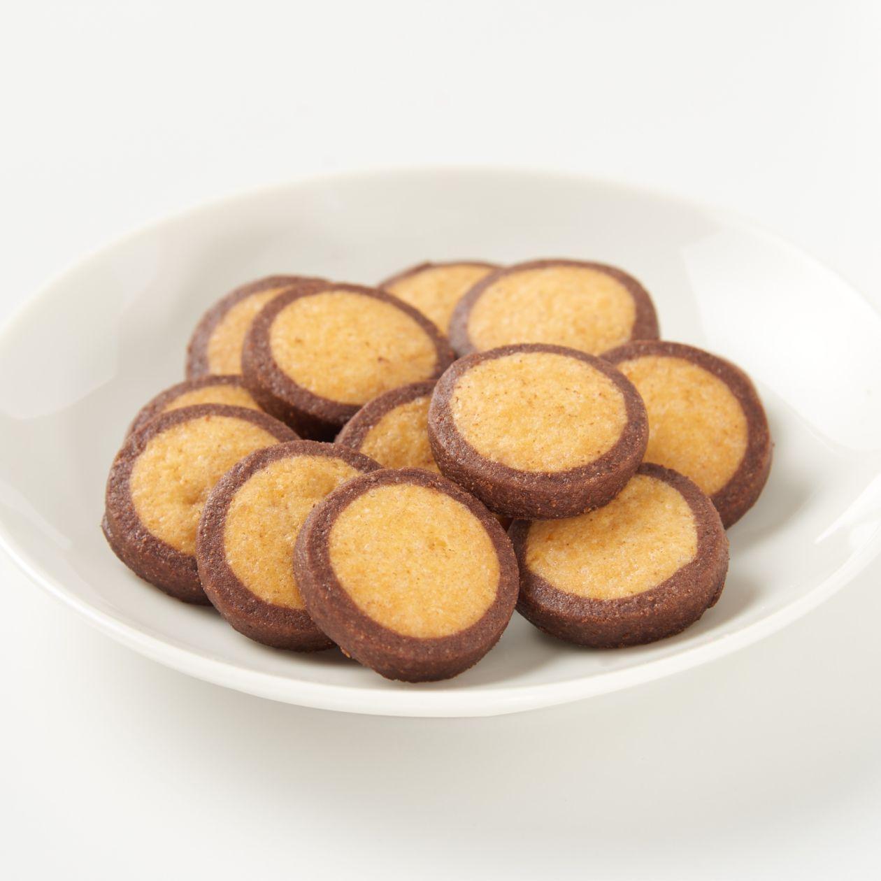 オレンジとショコラのクッキー